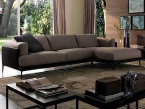 Divano Olga Chateau D'Ax, Deale Dudy Sectional By Chateau D'Ax, Italy. Shown In Fabric. Visit Website, Customization Options., Leather Sofas, Sectionals By Chateau D'Ax, Italy Trong