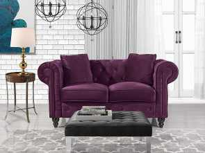 divano ottomana sinonimi Amazon.com: Divano Roma Furniture Classic Modern Scroll, Velvet Chesterfield Love Seat Sofa (Purple): Kitchen & Dining Eccellente 4 Divano Ottomana Sinonimi