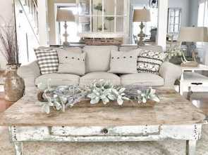 Divano Shabby Chic Ikea, Incredibile IKEA Couches With Chippy Doors. IG @Bless_This_Nest, Home Decor, Living Room Decor, Home Decor, Shabby Chic Decor Living Room