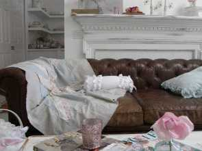 Divano Shabby In Pelle, Eccezionale Simply, This Is My Very ,Very Large Sofa, Whole Family, Sit Or Sleep On