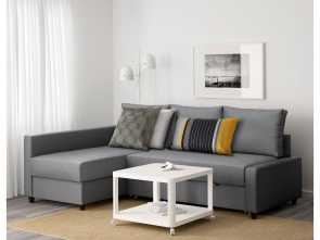 Futon Ikea Catalogo, Rustico IKEA FRIHETEN Corner Sofa-Bed With Storage Sofa, Chaise Longue, Double, In