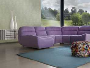 Hip, Sofa Calia Italia, Fantasia Modular Sofa / Contemporary / Polyester / 4-Seater, Caliaitalia