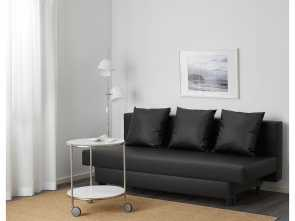 Ikea Asarum Assembly, Classy IKEA ASARUM 3-Seat Sofa-Bed Readily Converts Into A Bed