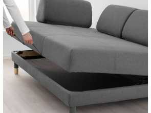 Ikea Asarum Sohva, Locale ... Flottebo Sleeper Sofa Frame Lysed Dark Gray Sofas Ypperlig Review Ikea This Comfortable Seater Leather Double