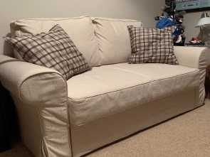 Ikea Backabro 2 Seater, Sbalorditivo Ikea Backabro 2 Seater Sofa Bed. Used Once, Spotless Condition From A Smoke And