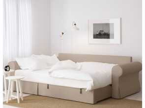 Ikea Backabro Bed, Bella BACKABRO Sofa, With Chaise Longue Hylte Beige, Office And
