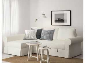 Ikea Backabro Reviews, Divertente Holmsund Sofa, Review Awesome Ikea Backabro Sofa, With Chaise Longue Cabin