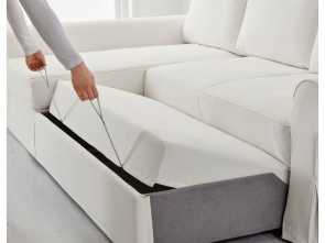 ikea backabro sofa bed with chaise instructions BACKABRO Sofa, with chaise longue Hylte white Elegante 4 Ikea Backabro Sofa, With Chaise Instructions