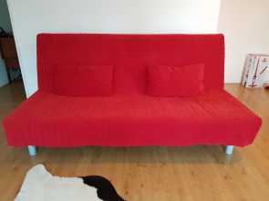 Ikea Beddinge, Bettsofa, Maestoso IKEA BEDDINGE SOFA, 3 SEATER, COVER 2 CUSHIONS In