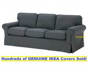 ikea beddinge cover ebay Details about Ikea EKTORP, Seal Sofa Slipcover Cover NORDVALLA DARK GRAY New! SEALED! Eccezionale 5 Ikea Beddinge Cover Ebay