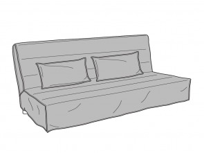 Ikea Beddinge Grey Cover, Completare Ikea Beddinge Sofa, Cover Assembly Instruction Free Pdf