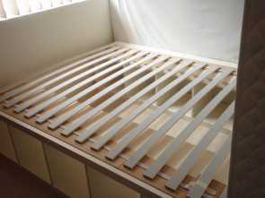 Ikea Futon Wooden Slats, Bello Pictures Of Ikea Futon Slats I Expect I Will Have To Fasten, Slats Down More