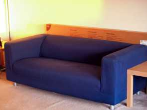 Ikea Klippan 2 Seater, Esclusivo IKEA KLIPPAN 2 Seater Sofa With Royal Blue Cover, In Northampton, Northamptonshire, Gumtree