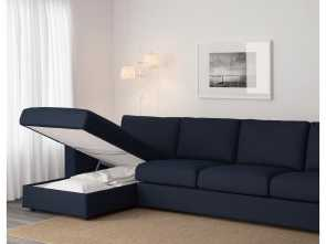 Ikea Klippan 4 Seater Sofa Dimensions, Favoloso IKEA VIMLE 4-Seat Sofa, Cover Is Easy To Keep Clean Since It Is
