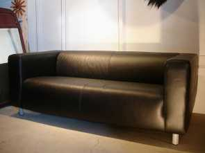 Ikea Klippan Leather Cover, Bellissimo Ikea Leather Sofa, Only $199, Deals, Airbnb