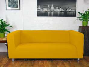 Ikea Klippan Sofa Covers Yellow, Bello Ikea Klippan Custom Made Sofa Slip Covers. Easy To, Marigold