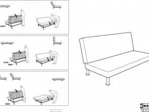 Delizioso 5 Ikea Lycksele Futon Instructions