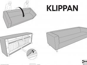 klippan ikea instructions Ikea Klippan 4 Seat Sofa Cover Assembly Instruction Eccezionale 4 Klippan Ikea Instructions