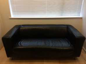 klippan ikea leather Ikea Leather Sofa Klippan Black In Trumpington Cambridgeshire Stupefacente 5 Klippan Ikea Leather
