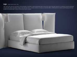 Letto Nathalie Dwg, Maestoso Model Shown Here Is Called Angle,, Other 3D Models Of Beds, With Same Quality, You, View Them Online In Flou`s Webpage