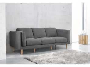 Maison Du Monde Divano Harper, Loveable Grey 4-Seater Cotton Sofa, Decorative Objects, Living Rooms, Room