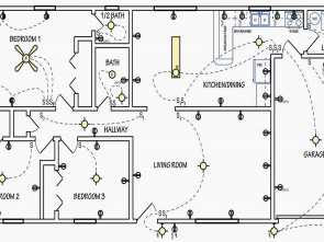 Oggetti Cucina Dwg, Maestoso Accessori Cucina, Favoloso Electrical Symbols, Used On Home Electrical Wiring Plans In Order Of