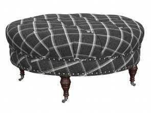 Plaid Divano Amazon, Locale Amazon.Com: Stone & Beam Janelle Button Tufted Ottoman, 37