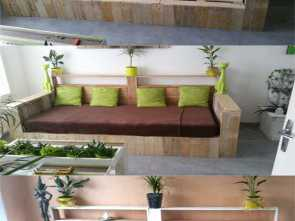 Poltrona Letto Pallet, Costoso 12 Easy Pallet Sofas, Coffee Tables To, In, Afternoon, Page 2 Of, A Piece Of Rainbow