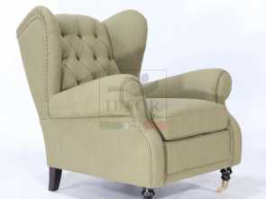 poltrone bergere vintage BERGERE FABRIC ARMCHAIR version 2 Migliore 5 Poltrone Bergere Vintage
