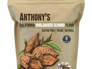 S Divani Flour, Migliore Natural Unblanched Almond Meal/Flour: Batch Tested & Verified Gluten-F, Anthony'S Goods