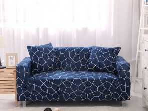 S&G Copridivano, Bellissimo Leopard/Plaid Pattern Sofa Cover Slip Resistant Sofa Slipcover Couch Cover Sectional Sofa Covers, Living Room Copridivano 1PC-In Sofa Cover From Home