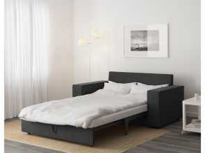 Vilasund Ikea Sofa Bed, Locale VILASUND Two-Seat Sofa-Bed Hillared Anthracite