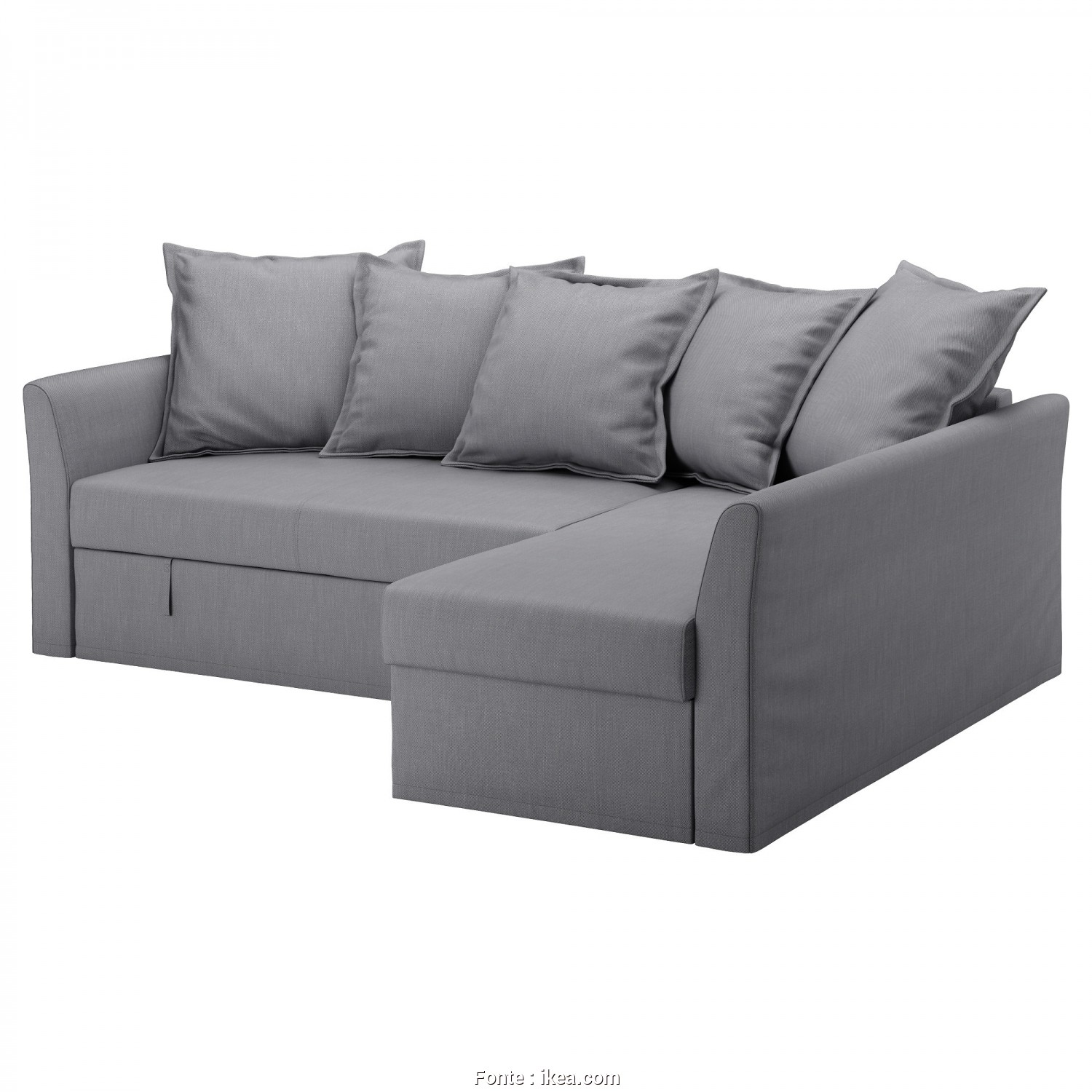 Vilasund Ikea Instructions, Modesto IKEA HOLMSUND Corner Sofa-Bed Cover Made Of Extra Hard-Wearing Polyester With A