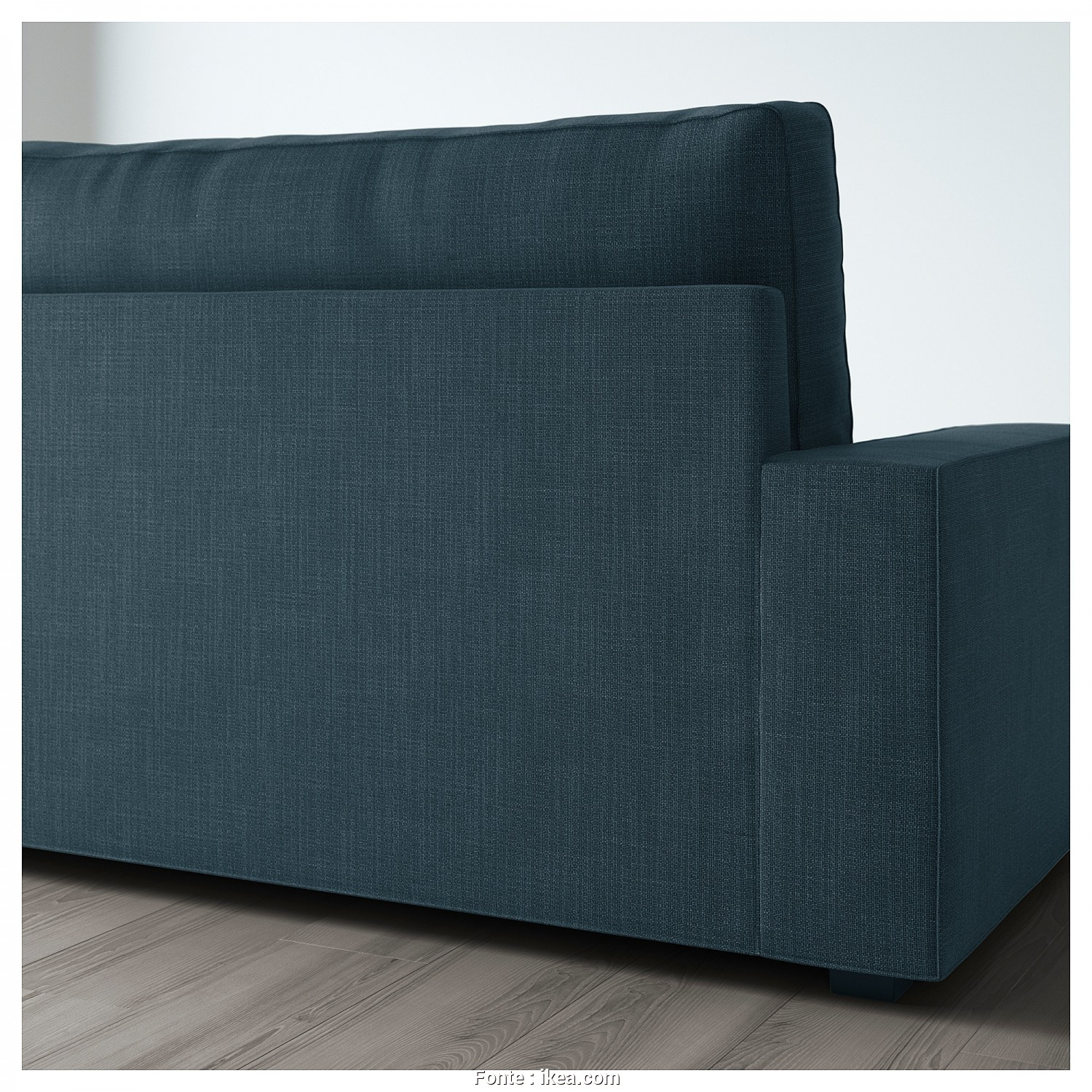 Vilasund Ikea Sofa Bed, Eccezionale VILASUND Two-Seat Sofa-Bed Hillared Dark Blue