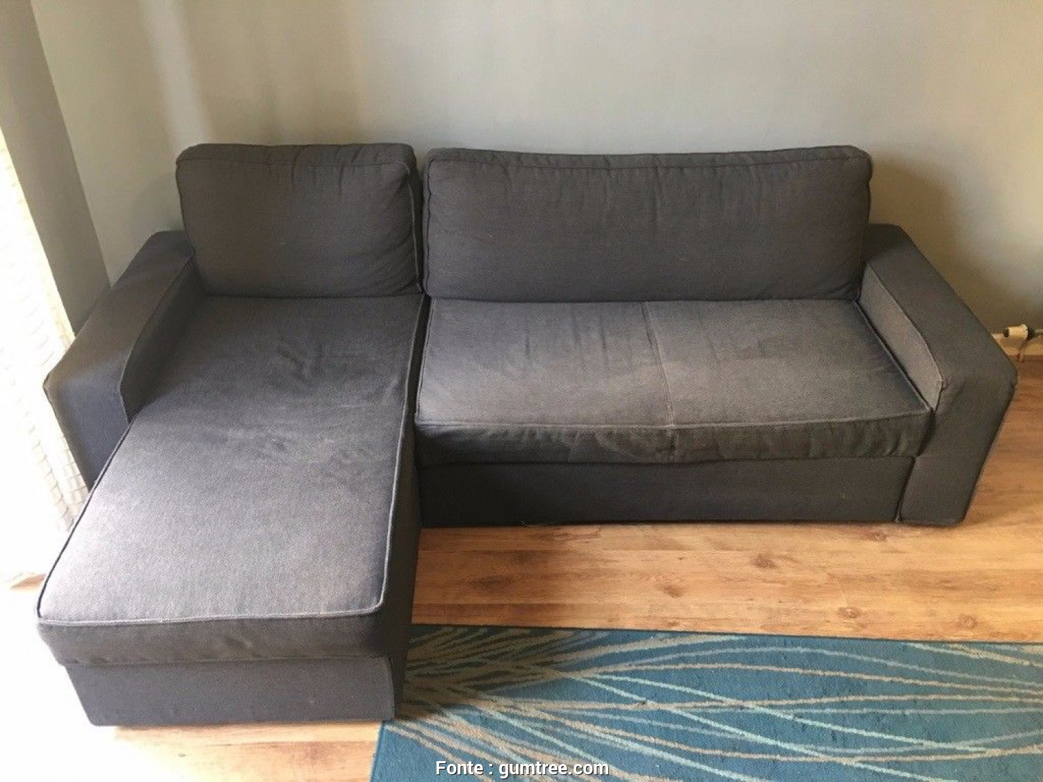 Vilasund Sofa, Ikea, Semplice IKEA VILASUND Sofa, With Chaise Longue In Excellent Condition, In Southside, Glasgow, Gumtree