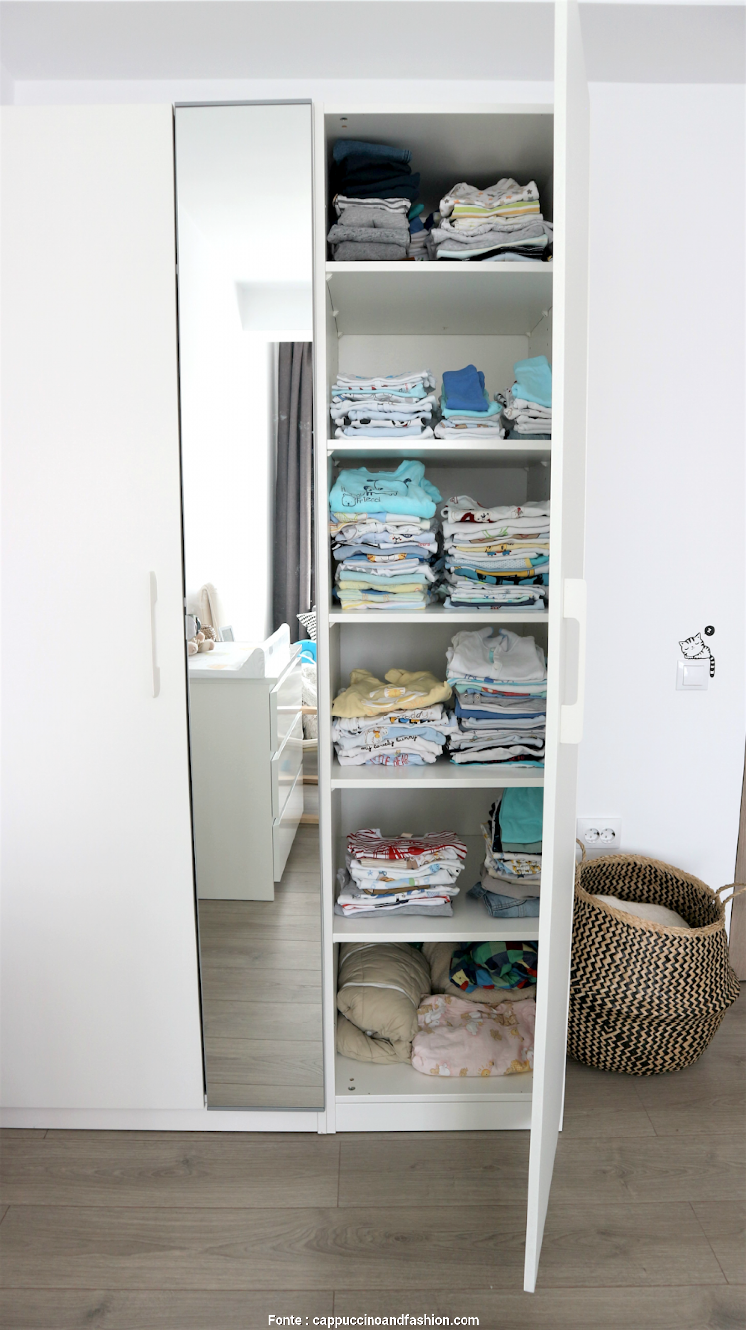 Ikea Asarum Maße, Delizioso ..., To, A Special Changing Table, Since We Knew We Would Probably Only, Up Using It A, Months. Instead, We, This MALM Dresser From Ikea And