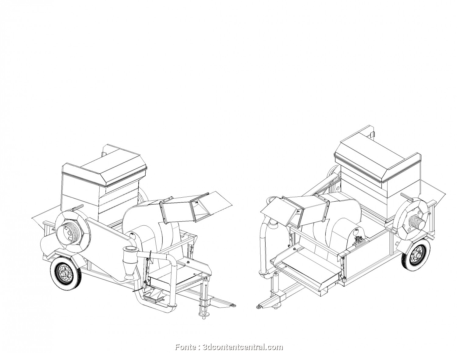 Letto, 3D, Sbalorditivo 3D ContentCentral, Free 3D, Models, 2D Drawings,, Supplier