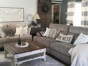 Divano Country Chic, Completare This Country Chic Living Room Is Everything! @Rachel_Bousquet, Us Swooning!